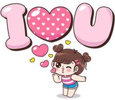Cute Chibi Couple, Love Cartoon Couple, Cute Cartoon Girl, Cute Love Cartoons, Cute Love Pictures, Cute Cartoon Pictures, Cute Love Gif, Cute Bear Drawings, Love Stickers