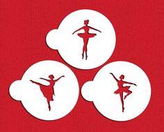 Designer Stencils C889 Ballerina Cookie Stencil Set, Beige/Semi-Transparent -- Visit the image link more details.