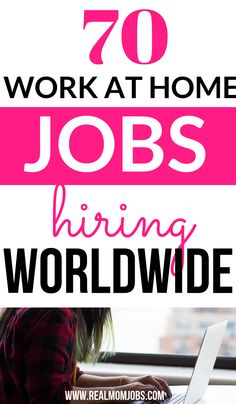 Looking for work at home companies hiring now? Here's a huge list of work from home jobs for you to explore today! Whether it's customer service jobs, taking paid online surveys, making food deliveries, you name it! work at home survey jobs Work From Home Careers, Work From Home Companies, Work From Home Opportunities, Work From Home Tips, Make Money From Home, Way To Make Money, Online Surveys That Pay, Earn Money Online, Online Jobs