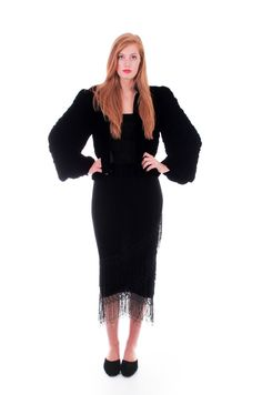 20s vintage black silk velvet cocoon jacket. Incredibly gorgeous and unique…