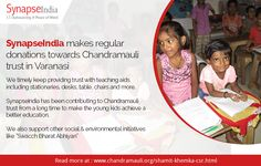 SynapseIndia timely keep providing trust with teaching aids including stationaries, desks, table, chairs and more. Read more at: http://synapseindia-csr.blogspot.in/2017/01/synapseindia-csr-initiatives-providing-teaching-aids.html