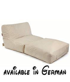 B00AAM9ZE0 : Peak Plus Sitzsack. Outbag Sitzsack Peak Plus in der Farbe beige. Material: 100% Polyester mit einer Innenbeschichtung (Reach Standard). Maße: 90x180x75 cm (BxLxH). Füllmenge: 700l. Made in Germany