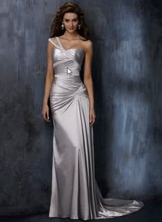 """bridal dress -- this would be """"the one"""" if it was white"""