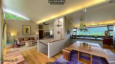 A wide angle photo sees as much as a human eye.  Part of a 360 panorama.   See the rest of this fabulous Kailua home here.  http://www.resort-virtual-tour.com/1370-kukana-place-kailua-hi-96734/  #hawaiirealestate  Photography Architectural photography #panaviz