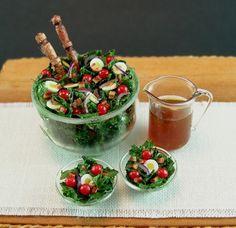 Mini Spinach Salad
