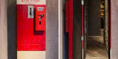 There is an entire cocktail bar awaiting you inside this coke vending machine