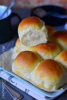 food to make for dinner * food to make Chef Recipes, Dinner Recipes, Cooking Recipes, Sweet Dinner Rolls, Pastry Cook, Cooking Bread, My Best Recipe, Croissants, Baguette