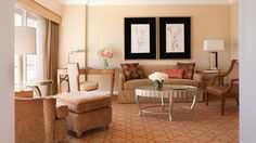 In April a family is coming back to California and staying in a suite at the Four Seasons Los Angeles