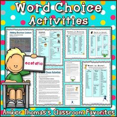 Said is Dead and Went is Gone! Help your students with word choice and use more… Reading Lesson Plans, Reading Lessons, Writing Lessons, Writing Resources, Writing Skills, Learning Resources, Teacher Resources, Teaching Ideas, Mentor Sentences