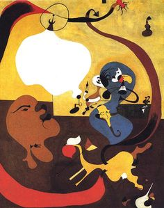 Joan Miro cannot really be called a true cat lover even though many of his works include felines. An unfortunate story is that Miro had a cat that he. Modern Oil Painting, Oil Painting Abstract, Spanish Artists, Dutch Artists, Miro Artist, Joan Miro Paintings, China Art, Oil Painting Reproductions, Surreal Art