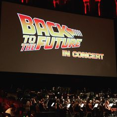 Just got home from 'Back to the Future' Live, what an amazing concert enjoyed with great company!
