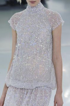 Chanel 2014 spring couture ----- So beautiful, but I think you could get arrested. I'd suggest a red body suit (just kidding).