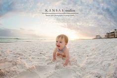 karsten is one! {a santa rosa beach baby plan graduate} | kansas studios | kansas pitts photography