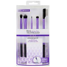 Real Techniques 5-pc. Enhanced Eye Brush Set, Multicolor