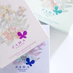 Zara perfume packaging