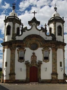 Igreja De Nossa Senhora Do Carmo Ouro Preto, Minas Gerais, Brasil