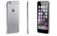 Bescherm jouw iPhone 6 Plus op een stijlvolle manier met deze mooi vormgegeven zilverkleurige bumper gemaakt van geanodiseerd aluminium.