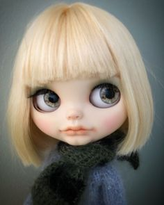 ooak custom blythe doll new by artist with outfit #Blythe
