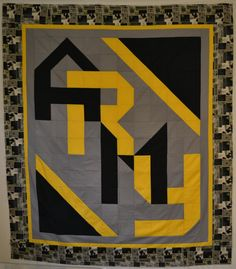 United States Army Quilt