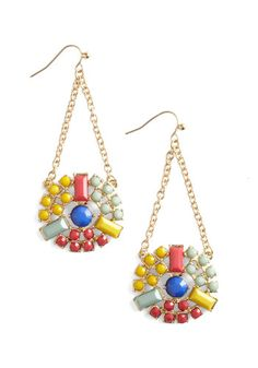 If I wore earrings, I would totally wear these via ModCloth #style #jewelry