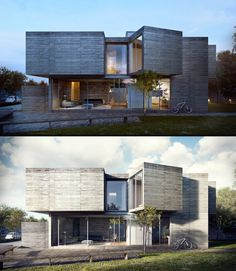 how-to-use-photoshop-for-architectural-renderings-image-editing-sample - Online Photo Editing - Online photo edit platform. - how-to-use-photoshop-for-architectural-renderings-image-editing-sample Minimalist Architecture, Residential Architecture, Contemporary Architecture, Interior Architecture, Interior Design, 3d Architectural Visualization, Architecture Visualization, Max House, Autocad