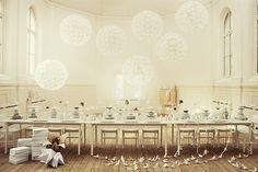 Set designer Lo Bjurulf via lace & tea blog/ god. love this so.