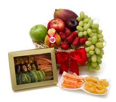 Pensando em inovar a cesta de café da manhã, a loja Love Fruits oferece uma cesta diferenciada, saudável e personalizada.