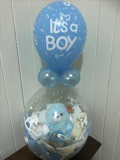Birthday Balloon Decorations, Balloon Crafts, Balloon Centerpieces, Birthday Balloons, Baby Balloon, Balloon Gift, Baby Shower Balloons, Baloon Art, Stuffed Balloons