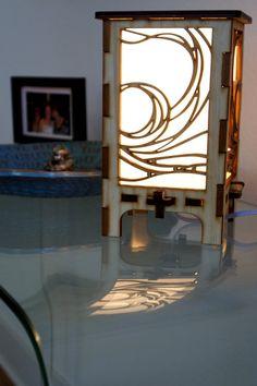 Waterwave Tabletop Lamp