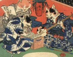 Kuniyoshi: xilografía japonesa