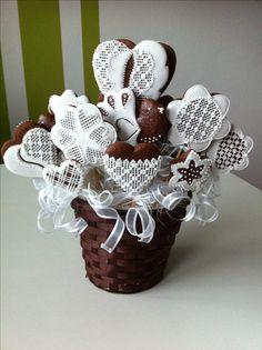 Perníková kytka Gingerbread Cookies, Christmas Cookies, Gingerbread House Designs, Sugar Art, Cookie Decorating, Heart, Photos, Photography, Ideas