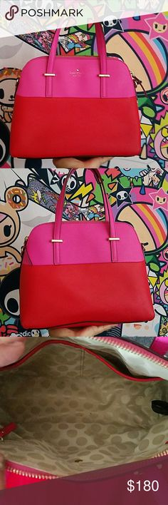 Kate Spade pink bag Used good condition does not come with original strap kate spade Bags Satchels
