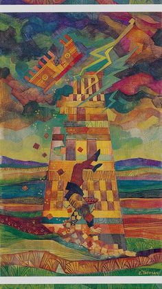 XVI. The Tower: The Crystal Tarot