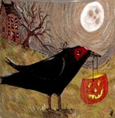 LOL!!! Love this Trick or Treatin' Corvidae!!  {{{i betcha anything tricks are the best!}}} :)