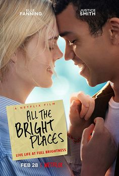 All the Bright Places - Por lugares incríveis Soundtrack Netflix original music from The Netflix film Action Movie Poster, Best Movie Posters, Horror Movie Posters, Action Movies, Film Poster, Horror Movies, Okja Movie, Sad Movies, 2020 Movies