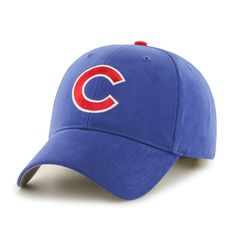 d7e82bb1f66 47 Brand Chicago Cubs MLB Basic Velcro Hat Cubs Cap
