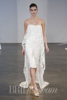 Brides: Marchesa - Spring 2014 | Bridal Runway Shows | Wedding Dresses and Style | Brides.com