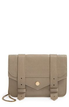 Proenza Schouler 'Large PS1' Leather Crossbody Wallet available at #Nordstrom