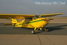 1946 Aeronca 11BC Chief available at www.trade-a-plane.com