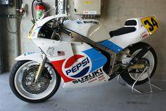 Suzuki RGV500, ex-Kevin Schwantz.