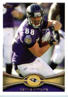 3c035c8ee4656 2012 Topps Football Card 45 Dennis Pitta - Baltimore Ravens (NFL Trading  Card)     Learn more by visiting the image link.