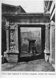 Demolizioni tra borgo nuovo e roma demolizione della spina for Planimetrie della cabina ad arco