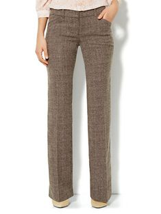 Shop 7th Avenue Bootcut Pant - Heritage Tweed - Petite. Find your perfect size online at the best price at New York & Company.