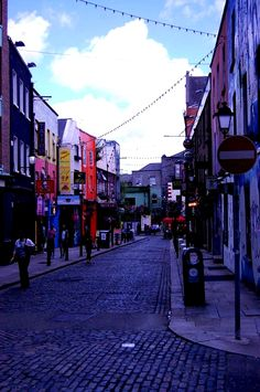 Dublin centre, Ireland #colorful