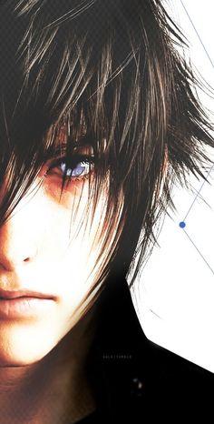 Image shared by ✝ Chris ✝. Noctis Final Fantasy, Final Fantasy Art, Final Fantasy Xv Wallpapers, Noctis Lucis Caelum, Fantasy World, Deck Of Cards, Anime Style, Sasuke, Naruto