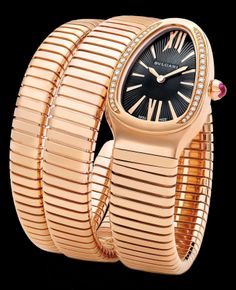 Irresistibly beautiful Serpenti Bvlgari watch watch - Presentwatch.com