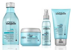 New: L'Oreal Professional Curl Contour Line Curly Hair Care, Curly Hair Styles, Natural Hair Styles, Paul Mitchell Hair Products, Contour, Hair Color Formulas, Hair Care Routine, Great Hair, Beauty Makeup