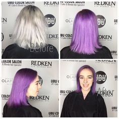 #southtampahaircolor #tampahair #besthaircolorsalontampa #unicornhairtampa 813.801.9700 Funky Hair Colors, Cool Hair Color, Galaxy Hair, Unicorn Hair, Funky Hairstyles, Blonde Color, Salons, Lounges, Funky Hair