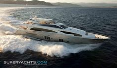 COUACH 3700 FLY- 07 LUXURY MOTOR YACHT ~ l SuperYachts.Com