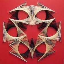 """Résultat de recherche d'images pour """"abstract string art"""""""